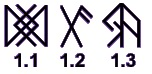 Магические символы. Символика в магии. Символы талисманы. Blagopoluchie