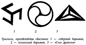 Трискель — трёхлучевая свастика Trefot3
